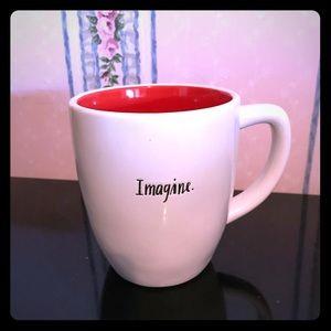 Rae Dunn IMAGINE Script Mug